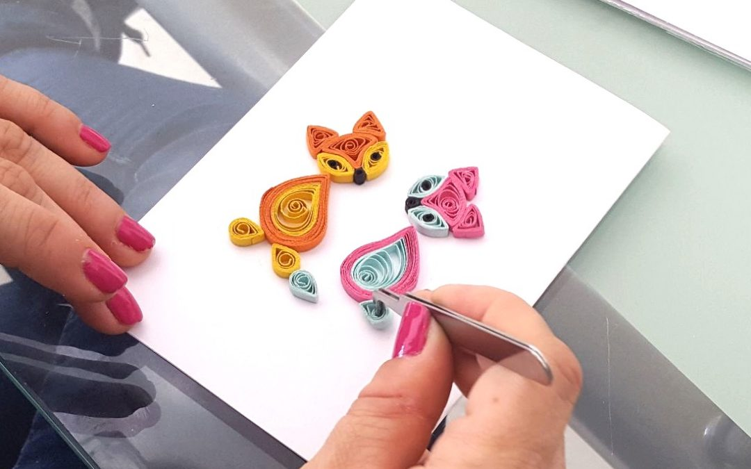 Paper quilling art workshop